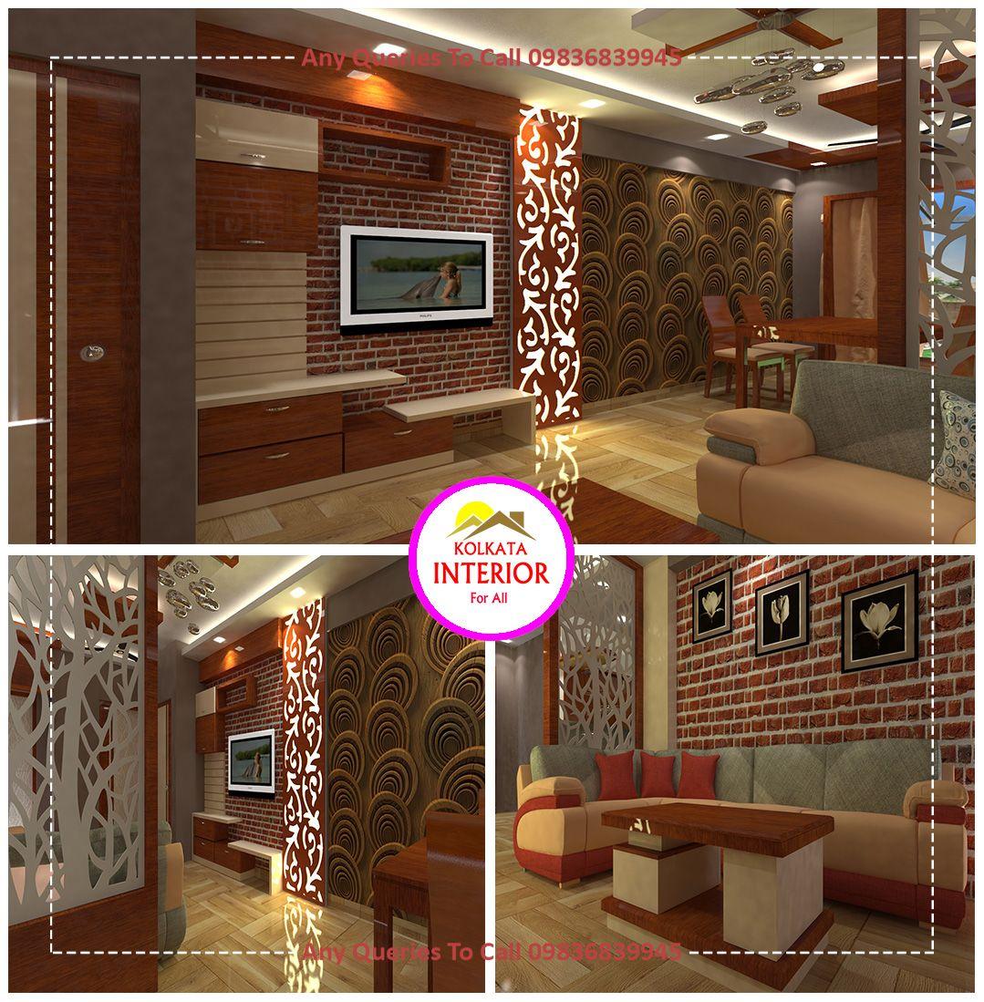 Top Interior Designer Kolkata  9.9 Lakhs Budget Living Room