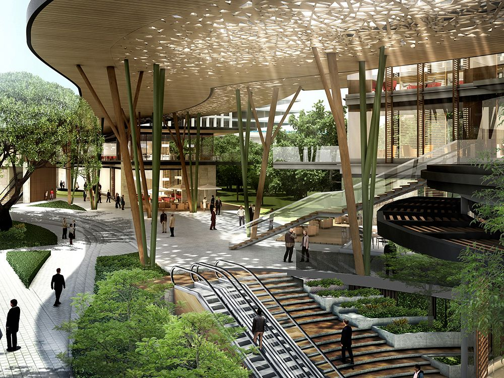 Bangkok Projects Construction Page 117 Skyscrapercity Green Architecture Architecture Mall Design