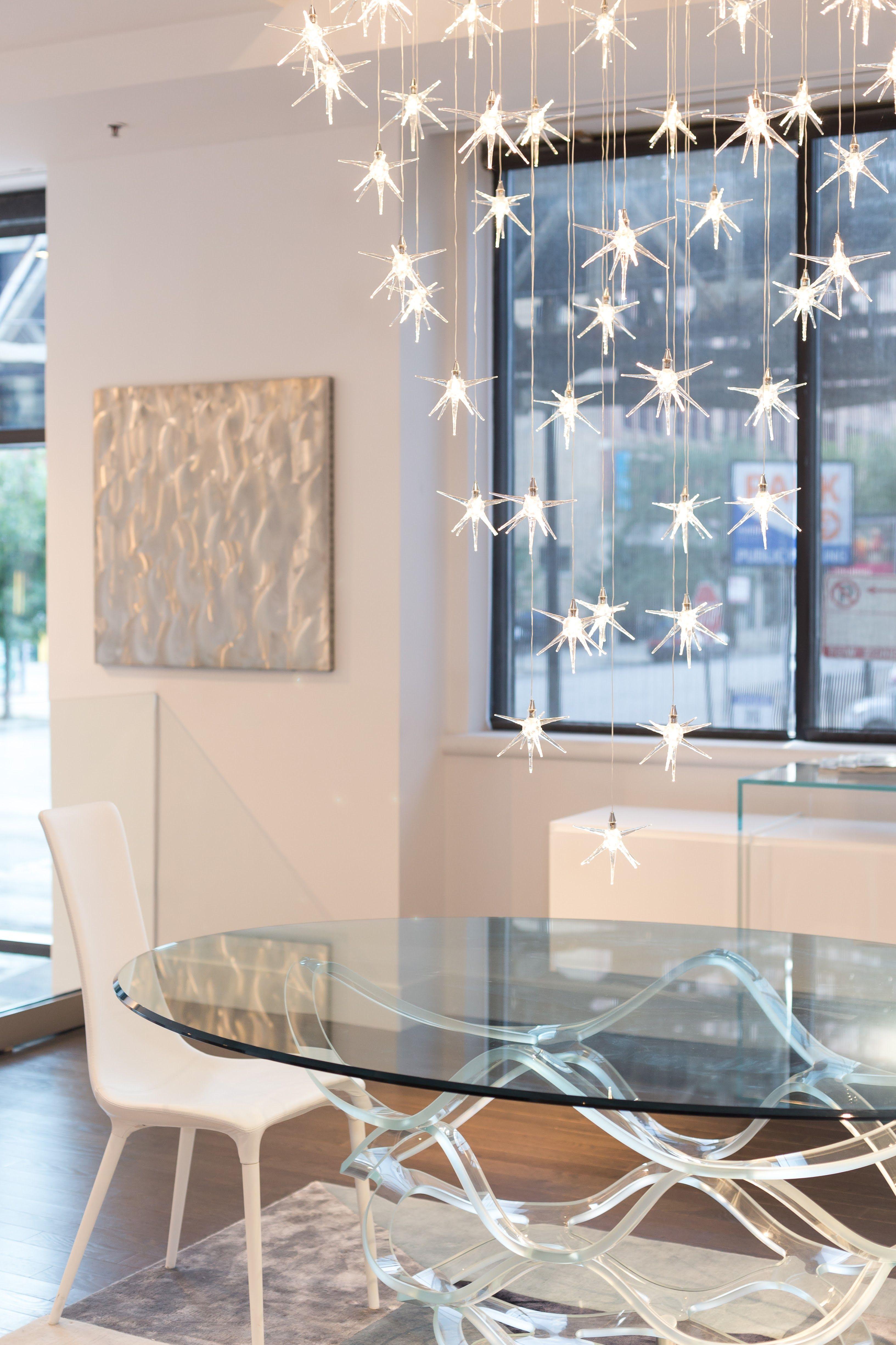 Reflex Stella chandelier. Murano glass, handcrafted in Italy ...