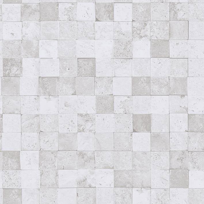 Papel pintado caselio metaphore azulejo ba o tono desgastado mte65640000 texturas papel - Papel pintado para banos sobre azulejos ...