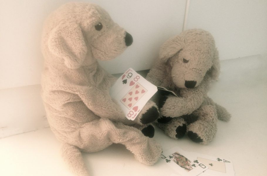 Einfache Kartenspiele