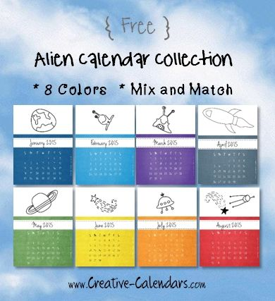 Free Printable Calendar Templates For 2015 And Beyond Instant