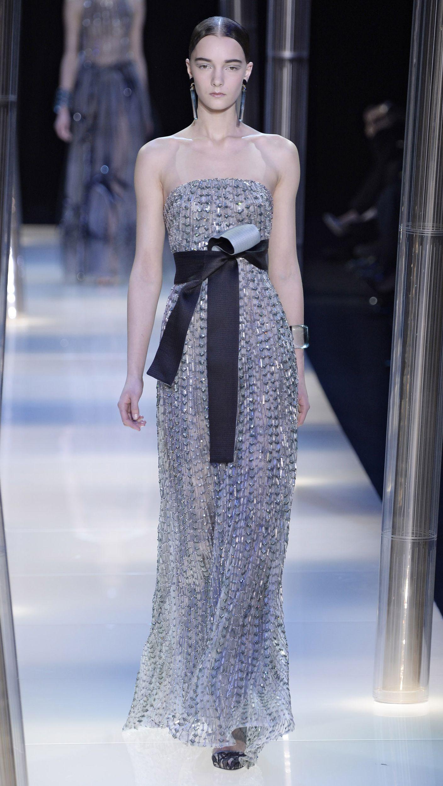 02b07810e336 Giorgio Armani Prive Haute Couture Spring Summer 2015 via  AOL Lifestyle  Read more  http