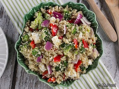 Quinoa Vegetable Salad | mrfood.com