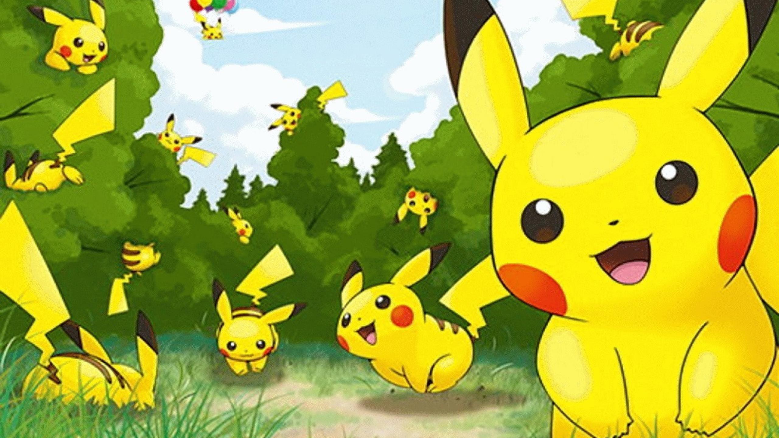 Pokemon Daily Pikachu Pikachu Pikachu Evergiftz Cute Pokemon Wallpaper Ash And Pikachu Cool Pokemon Wallpapers