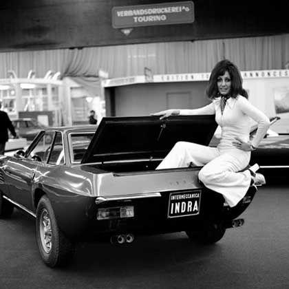 Bild aus einer anderen Zeit: So sah es auf dem Autosalon in Genf im Jahr 1972...