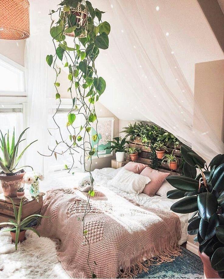 Wow ❤️ Ein Schlafzimmer Traum l Wohnen im Grünen #bohemianhome