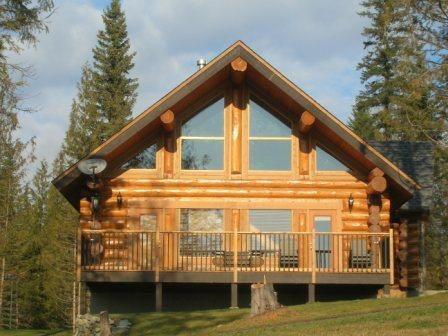 Log cabin nice dream homes pinterest log cabins for Canadian log home designs