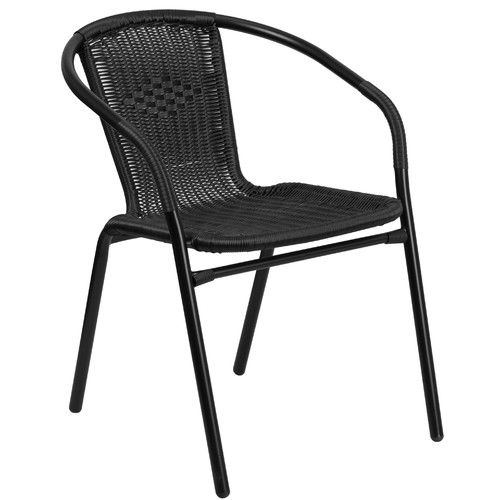 Found it at Wayfair - Stacking Dining Arm Chair Outdoor Furniture