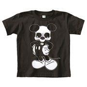 Little Kids Mikey Skull by Josh Stebbins Anti-Disney Sz 4 5 6 T Shirt