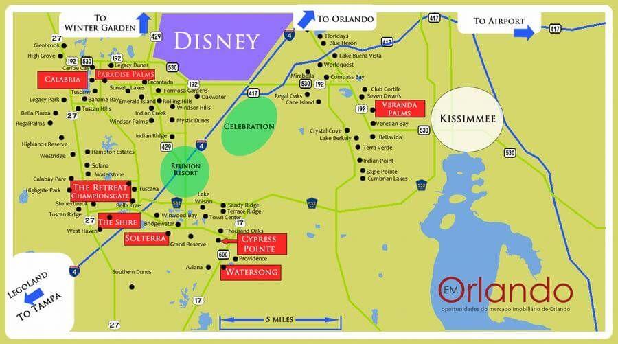 MAPA ORLANDO Y PARQUES Net Deals Image Results DISNEY - Mapa de la florida usa