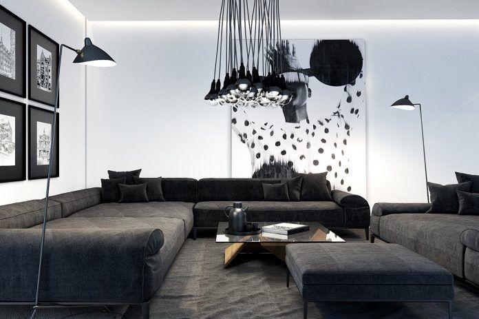 Moderne Und Luxuriöse Wohnzimmer Designs Sehen So Hervorragend Mit  Perfekter Dekoration #designs #hervorragend #luxuriose #moderne #sehen # Wohnzimmer