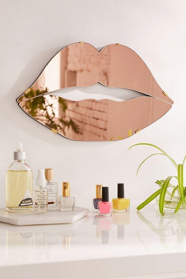 Lips Mirror In 2019 Room Decor Handmade Home Decor