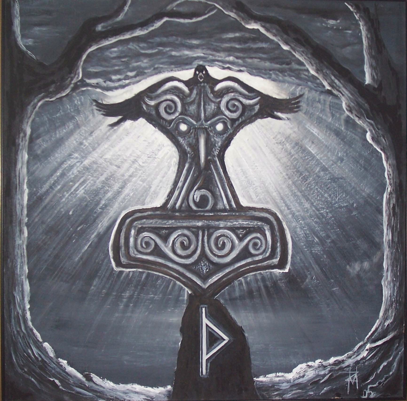 Thor | Thors hammer and Norse vikings