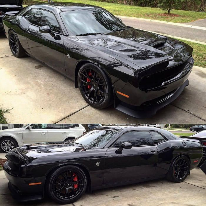 Blacked Out Challenger >> Murdered Out Hellcat Hot Rides Blacked Out Cars Dodge