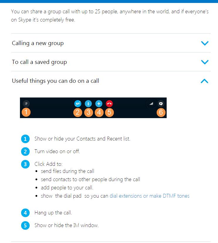 How do I make a group call in Skype for Windows Desktop