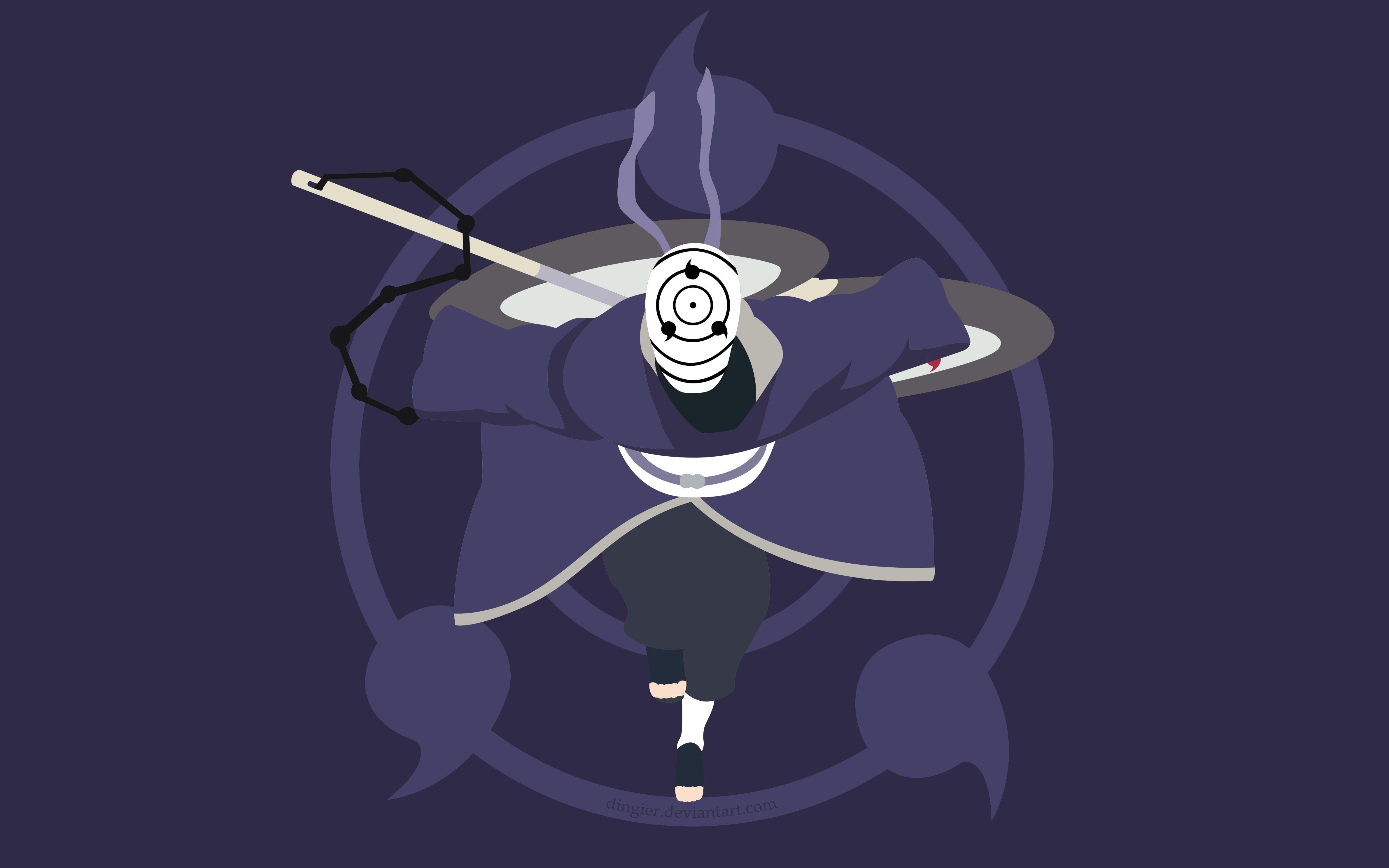 Anime Naruto Obito Uchiha 4k Wallpaper Hdwallpaper Desktop Anime Naruto Uchiha