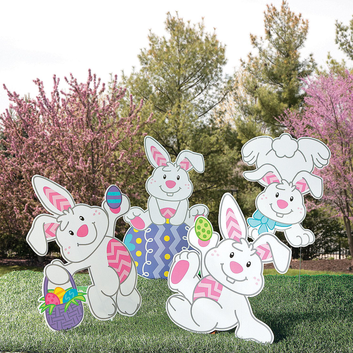 Religious easter yard decorations - Save On Easter Outdoor Decor Garden