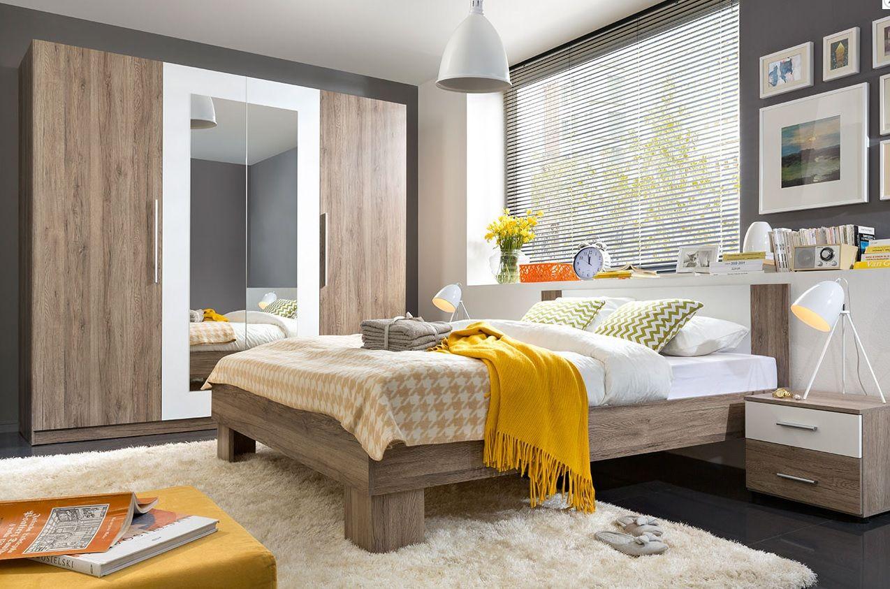 Complete Peuter Slaapkamer : Martin is een moderne complete tweepersoons slaapkamer gemaakt van