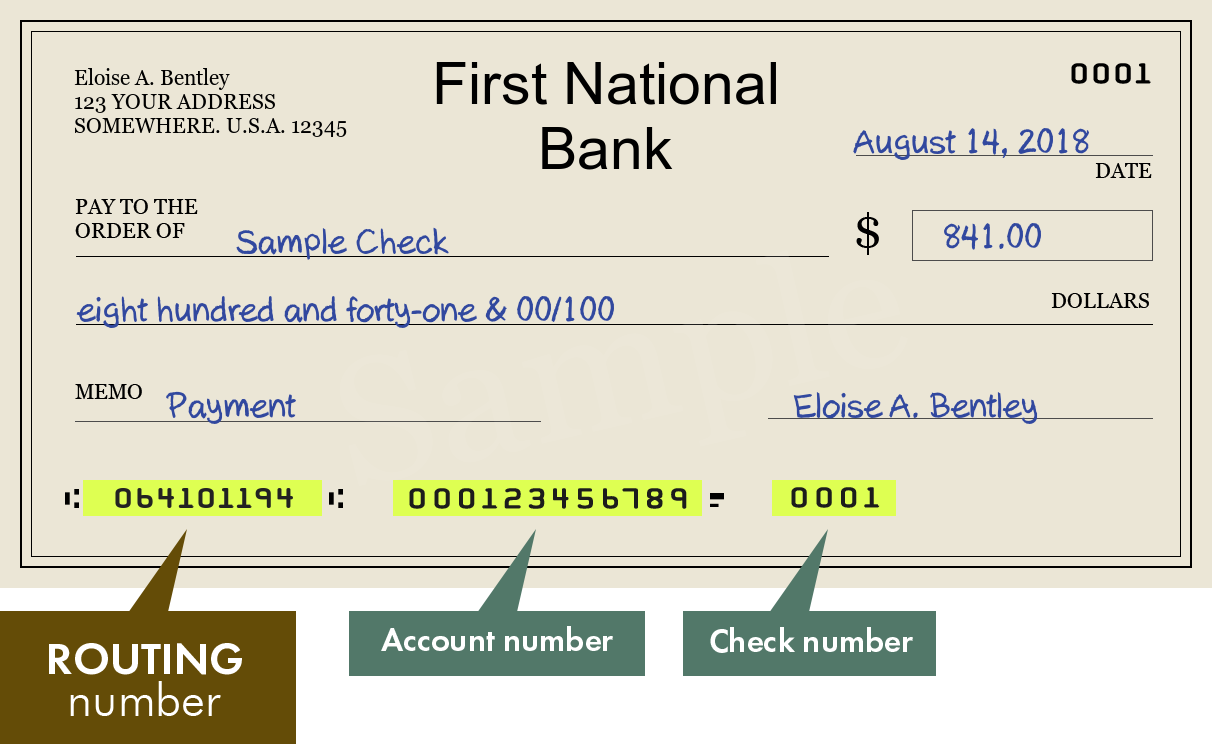 Usa Routing Number Check
