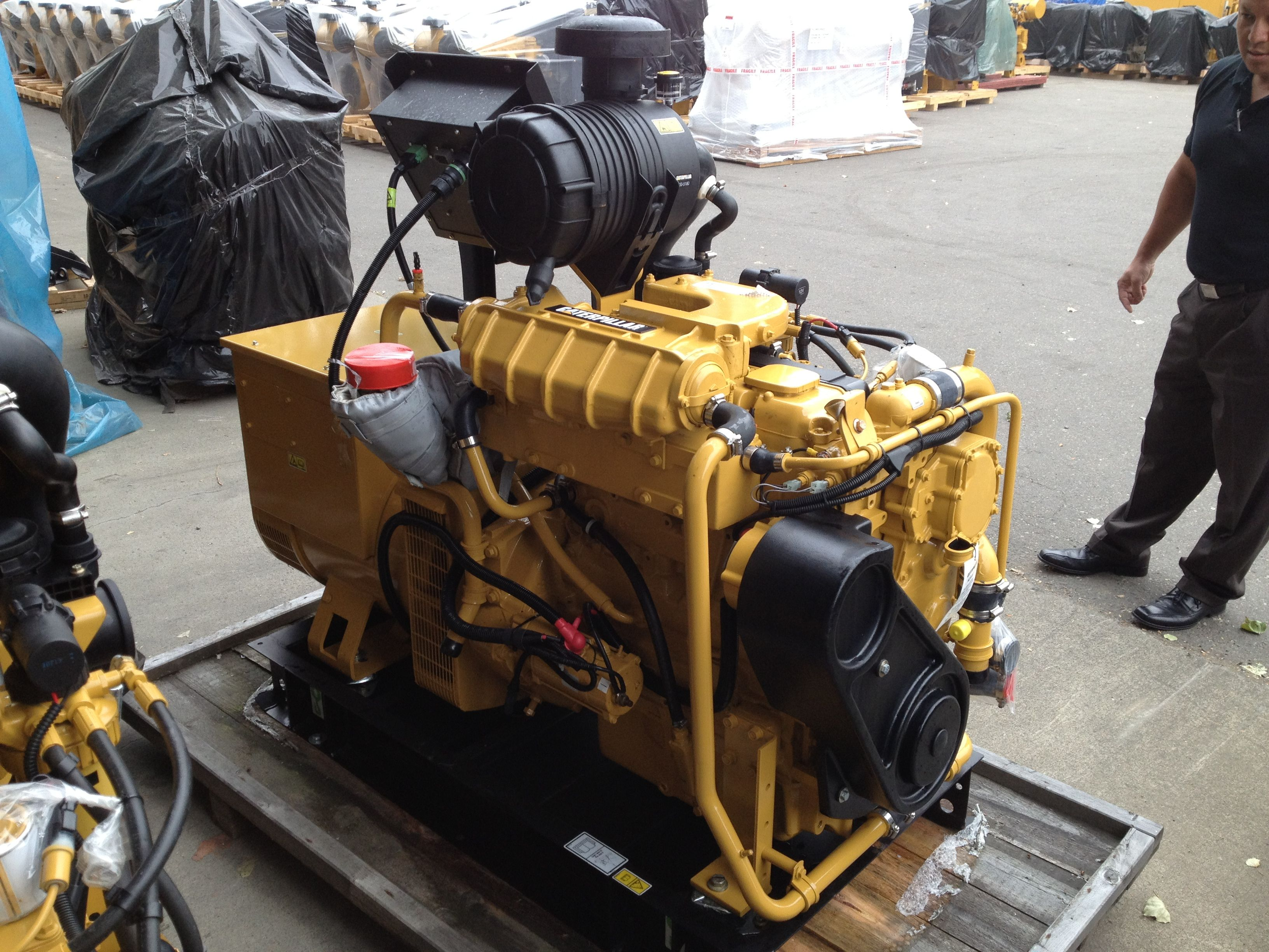 C4.4 marine generator set Home appliances, Vacuums