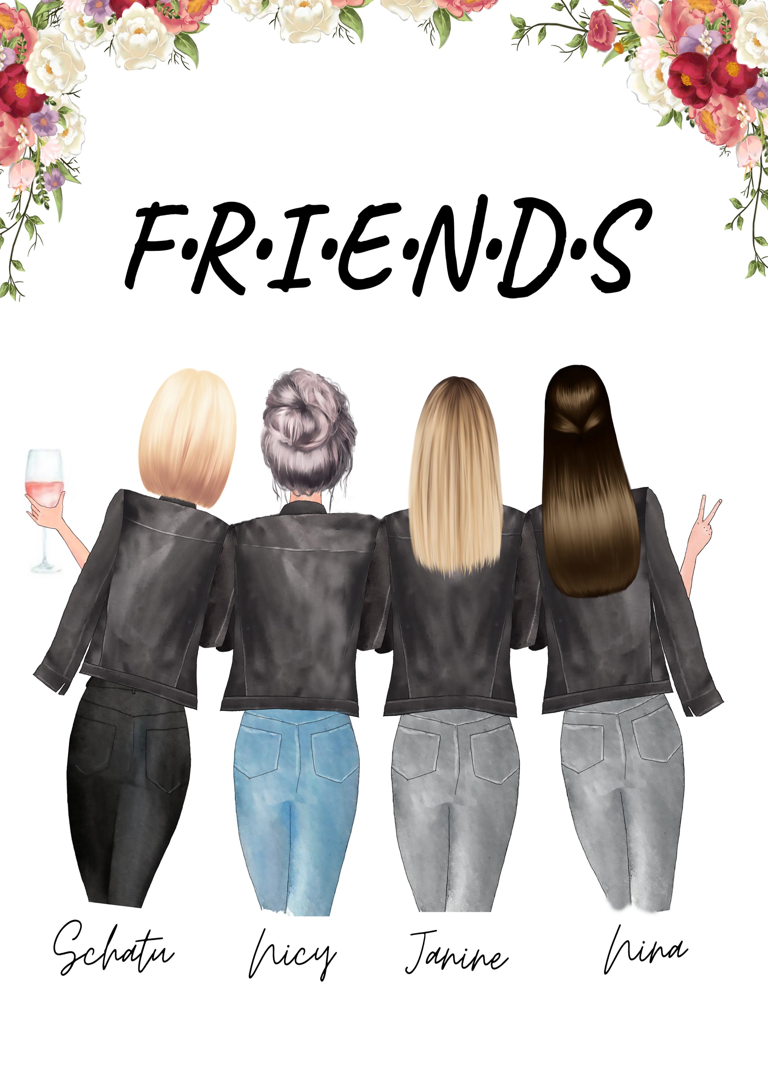 4 Beste Freundinnen