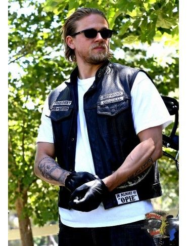 Blouson cuir sons of anarchy