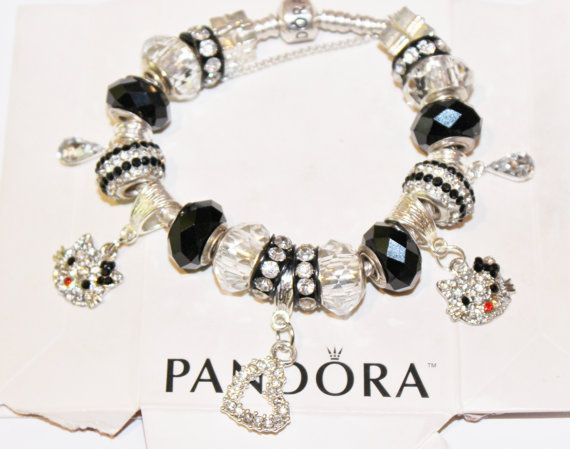 Hello Kitty Theme Authentic Jared Pandora Bracelet by xdempseyx