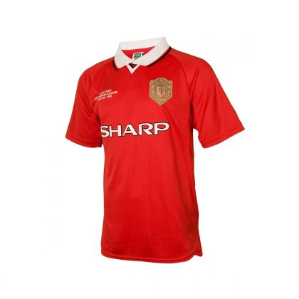 Manchester United 1999 Mens Jersey Mens Tops Retro Football Mens Polo Shirts