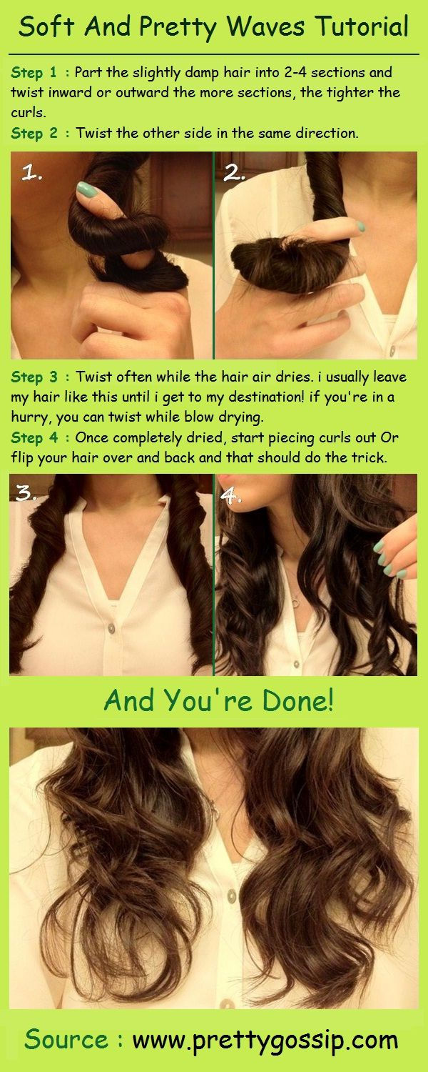 Soft and pretty waves tutorial think my hairus too thick for this