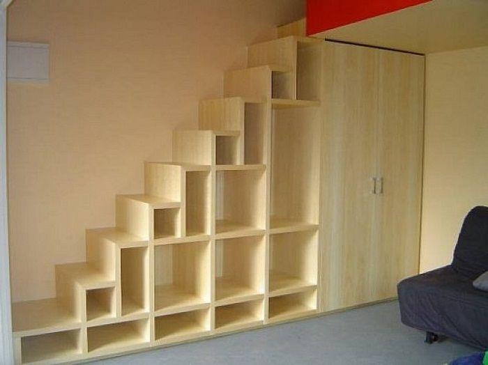Stair Step Cat Tree Bookshelf Google Search Storage Solutions Bedroom Stair Shelves Stair Storage