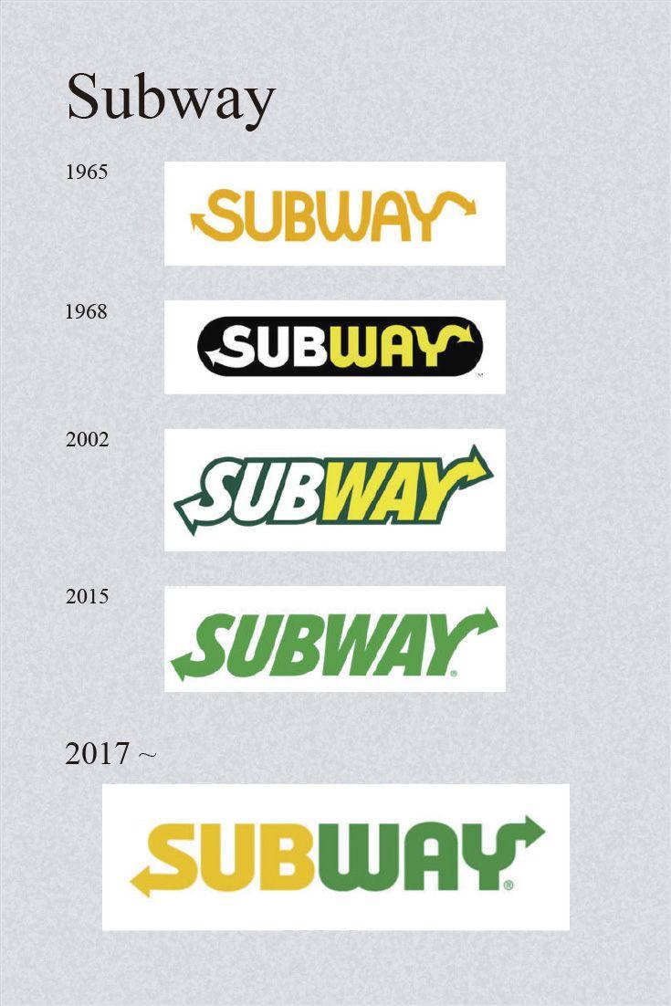 subway logo famous logos pinterest logos