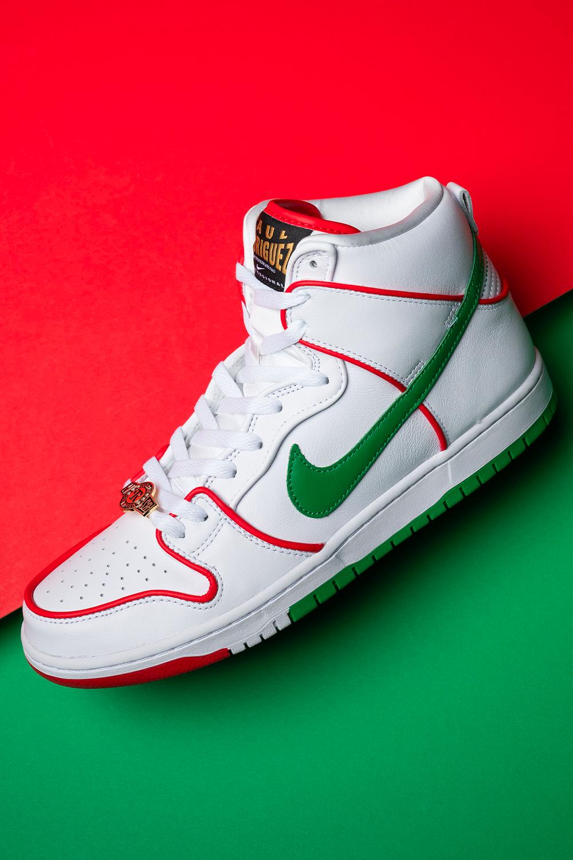Nike Sb Dunk High Paul Rodriguez Mexican Boxing Ct6680 100 2020 Nike Sb Dunks Nike Sb Nike