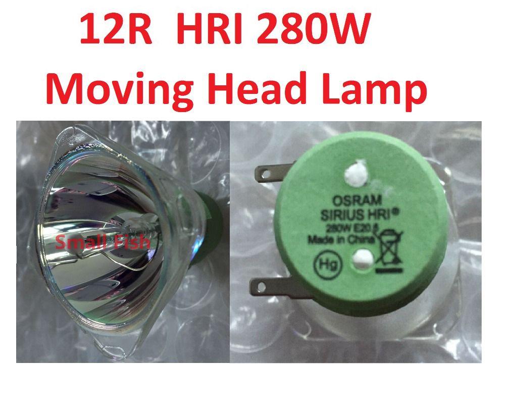 High Quality 12r Hri280 Metal Halide Lamp E20 280w Metal Halogen Bulb Moving Head Beam Lights Bulbs Projector Msd Platinu Halogen Bulbs Light Bulb Mercury Lamp