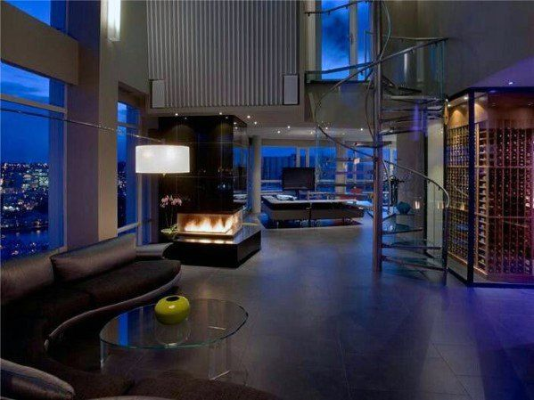 50 Ultimate Bachelor Pad Designs For Men - Luxury Interior Ideas
