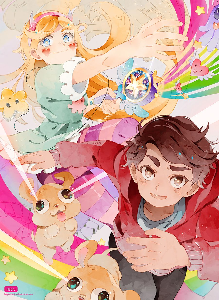 Star Vs The Forces Of Evil Speedpaint By Hetiru In 2020 Anime Stars Star Vs The Forces Of Evil Star Vs The Forces