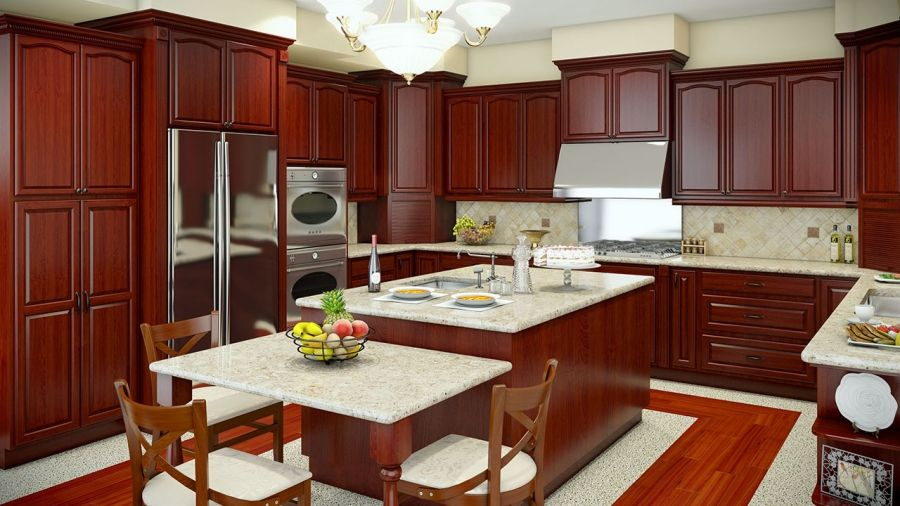 Maple Cherry Kitchen Cabinets Los Angeles Orange County ...