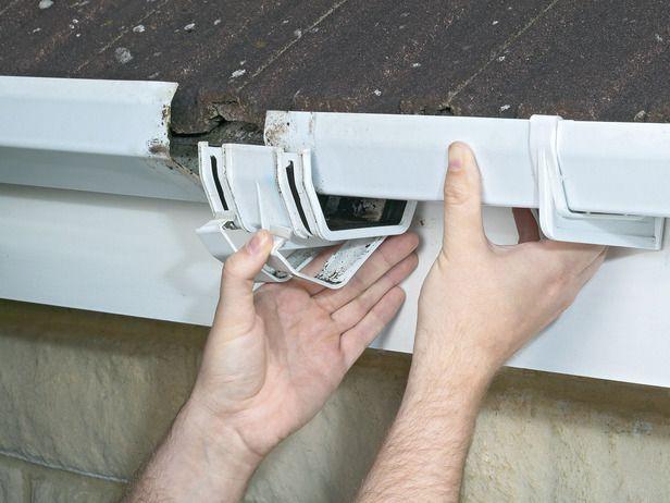 Tips For Cleaning And Repairing Gutters Gutter Repair Gutters Roof Repair Diy