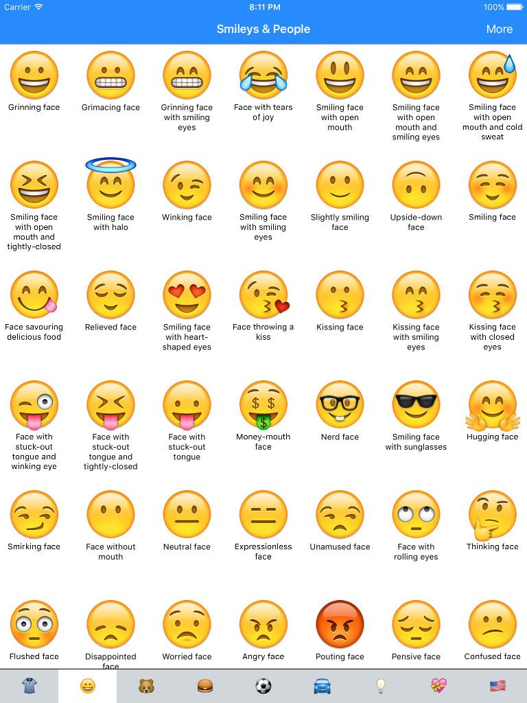 Emoji Meanings Dictionary List App     | Halloween | Emoji