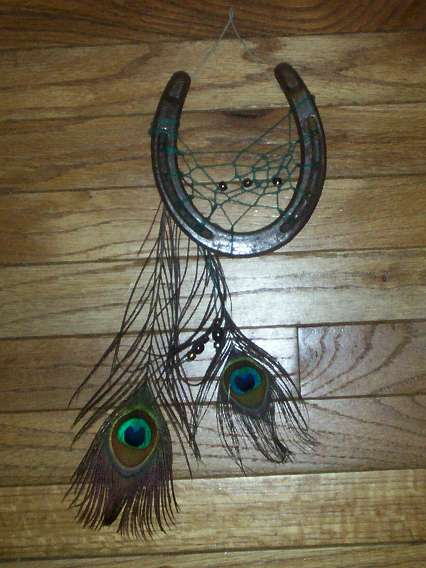Horseshoe arts and crafts - Horseshoe Dreamcatcher By Melj306 On Deviantart Horseshoe Projectshorseshoe Craftshorseshoe Arthorseshoe