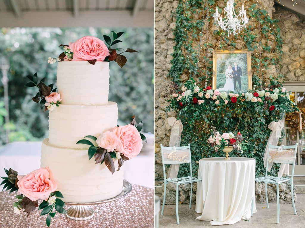 wedding cake with blush pink flowers the bungalow wedding in pleasant grove blush garden 26831