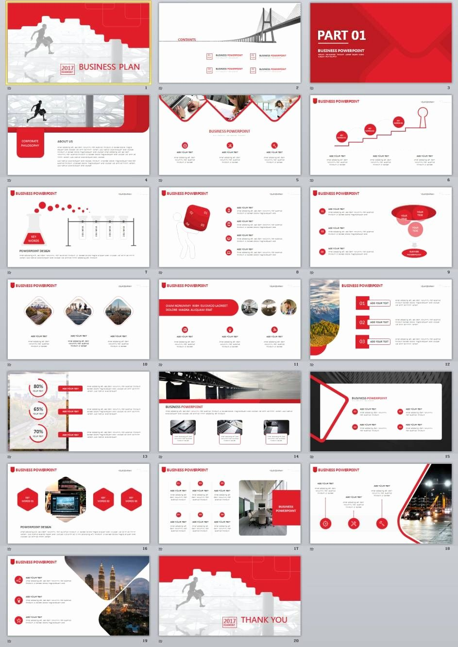 Business Plan Point Template Free Awesome
