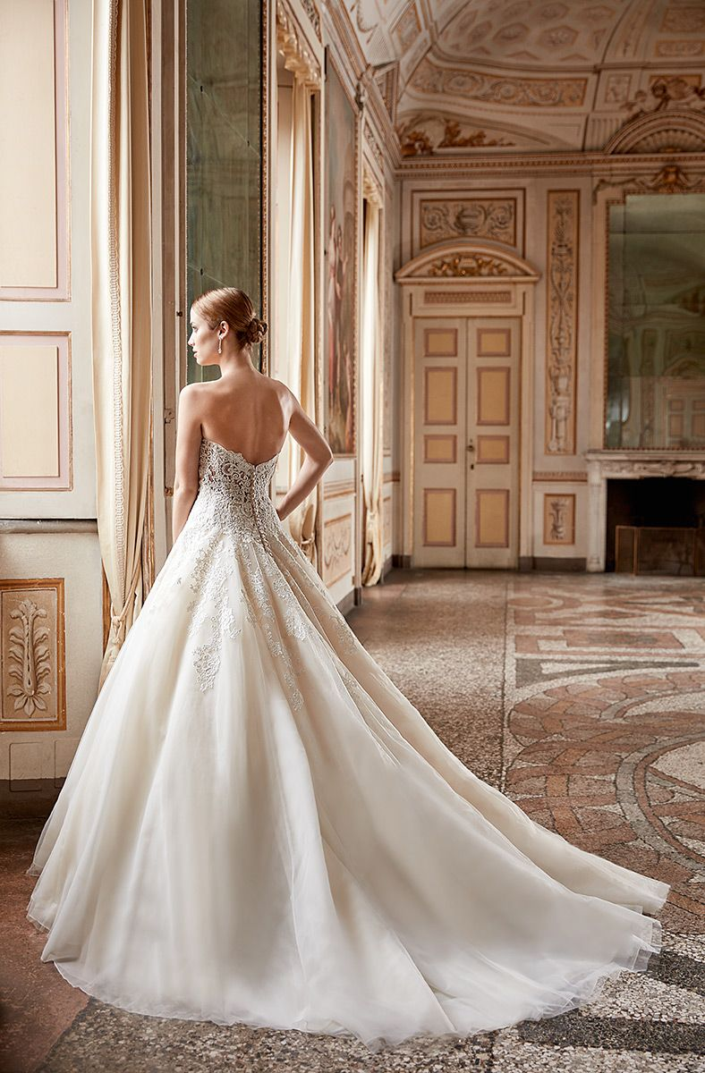 Bouquet collection, Style AK 162 back view