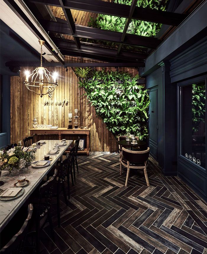 A Good Place to Enjoy a Cup of Coffee - InteriorZine | RUSTIC ...