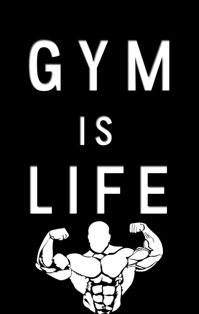 Gym Is Life Best Wallpaper Life Gym Wallpaper Dark Wallpaper