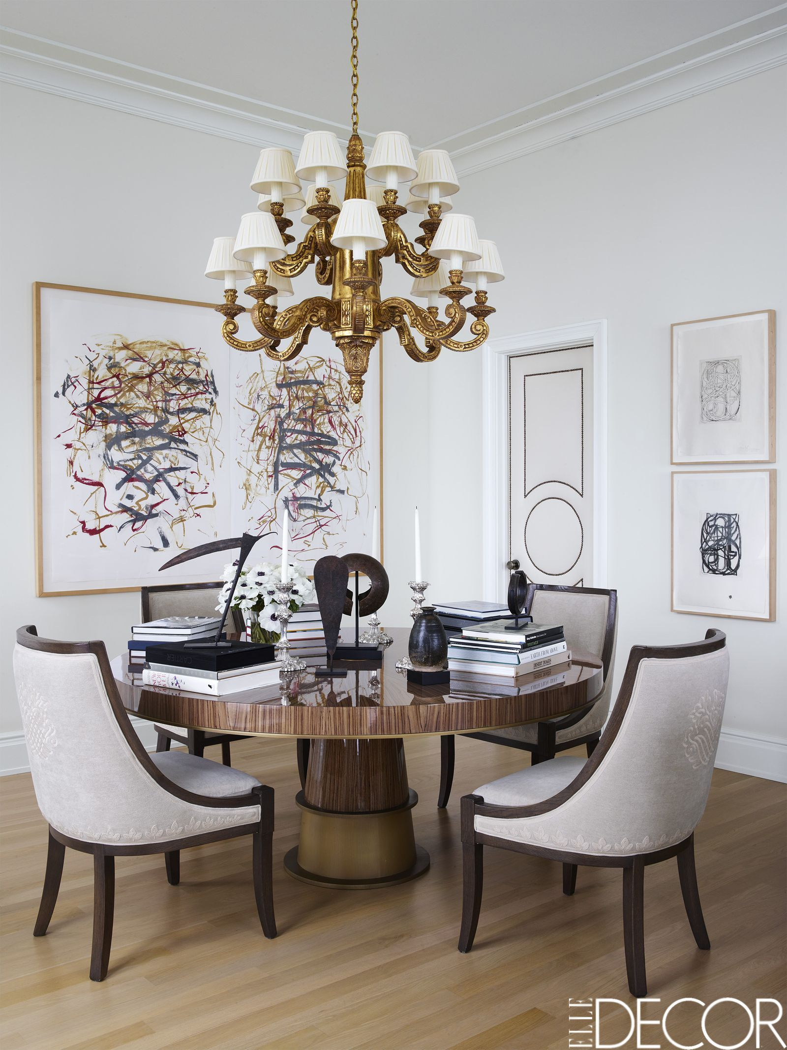 Timothy Corrigan - ELLEDecor.com Dining Room Inspiration, Contemporary  Interior, Industrial Dining,