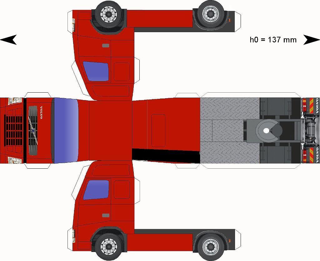 Volvo-donkerrood