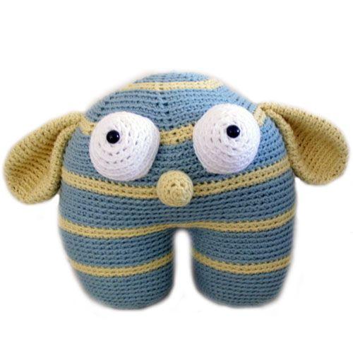 large monster Stuffed Animal Crochet Pattern