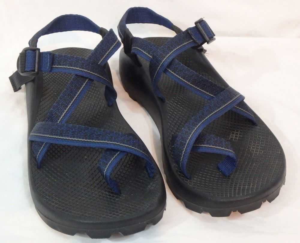 68bf03c1d0af Men s Chaco Z 2 Unaweep Sport Sandals Size 10 Blue Vibram EUC Camp Hike  River  Chaco  SportSandals
