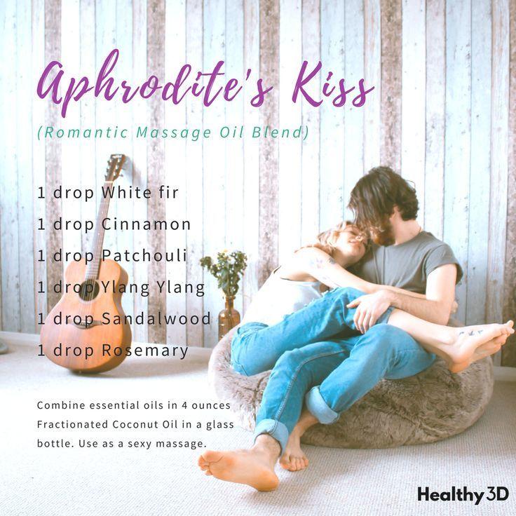 Aphrodites Kiss (Romantic Massage Oil Blend)   Massage